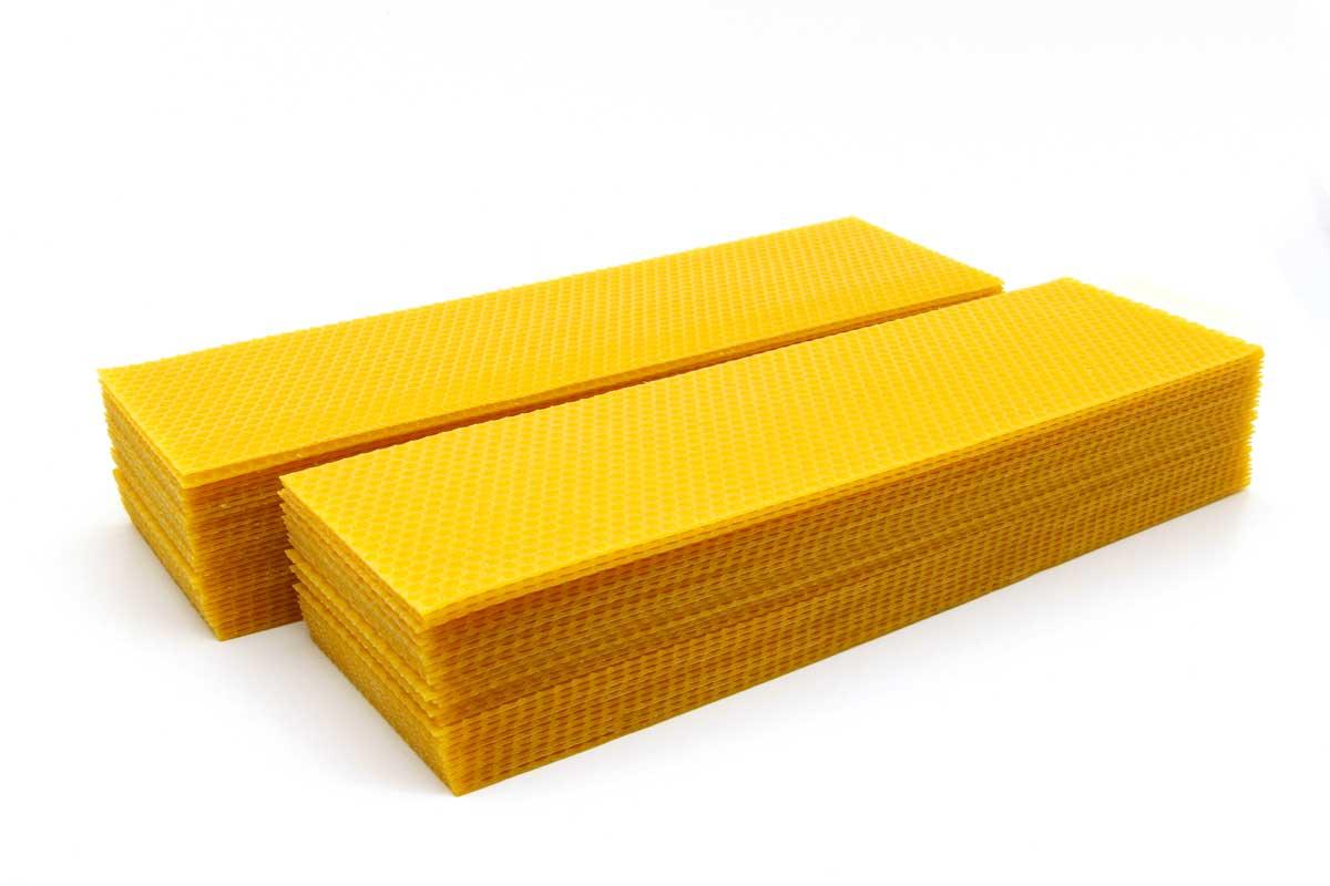 Bienenwachsplatten 10 X 35 Cm 1kg Imkerei Heiser